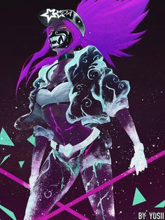 k da akali lol wallpapers akali lol league of legends female art