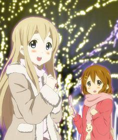 tags anime k on hirasawa yui kotobuki tsumugi hatasuke