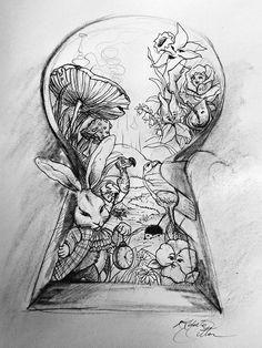 alice in wonderland drawings google search cool tegninger blyantstegninger tumblr tegninger malerier