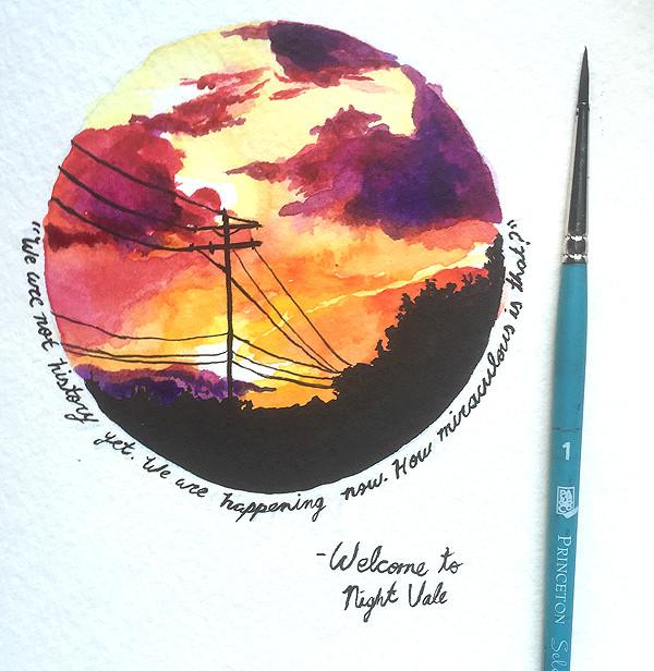 watercolor illustration tumblr