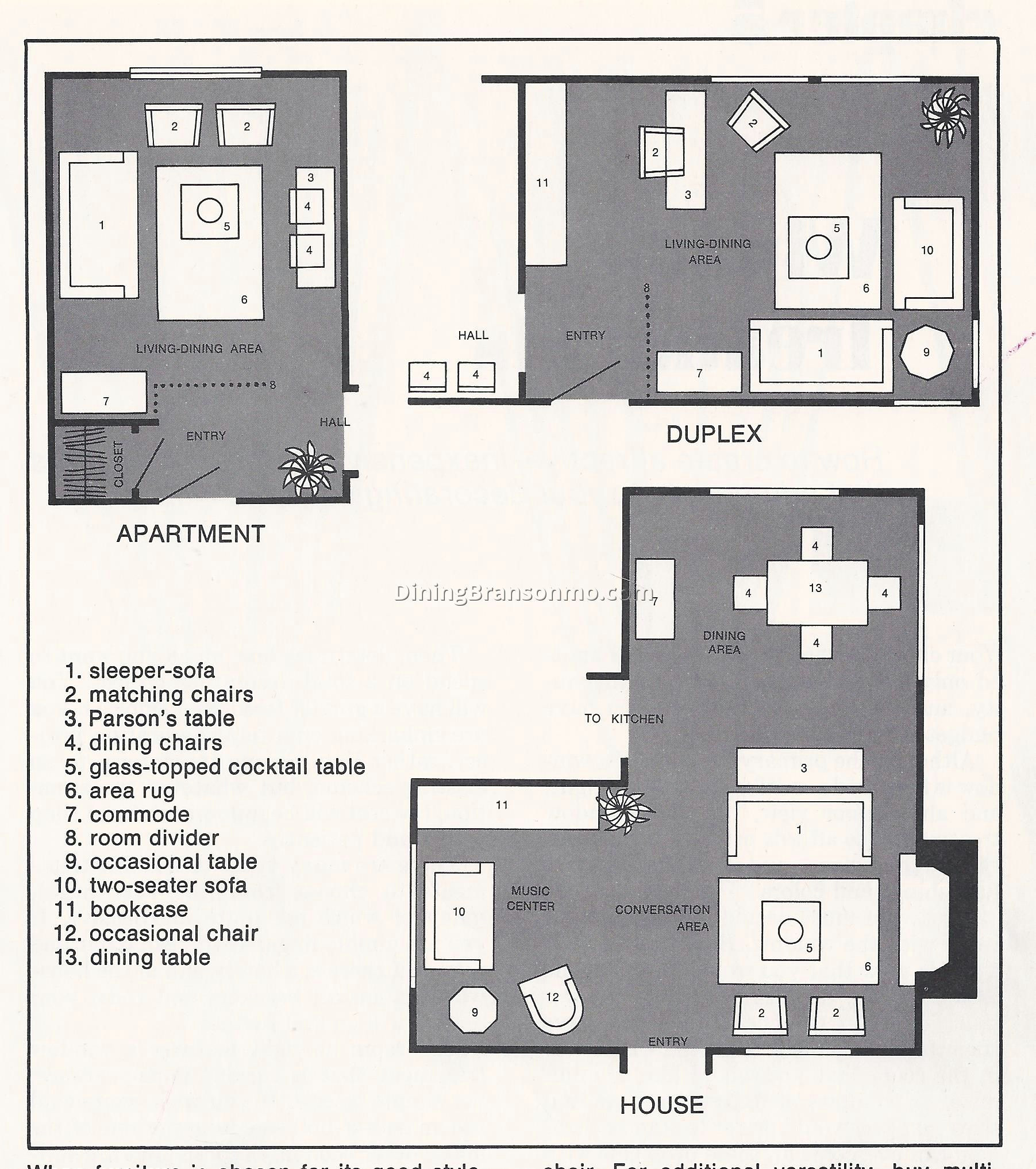 l shaped living room dining room furniture layout 6