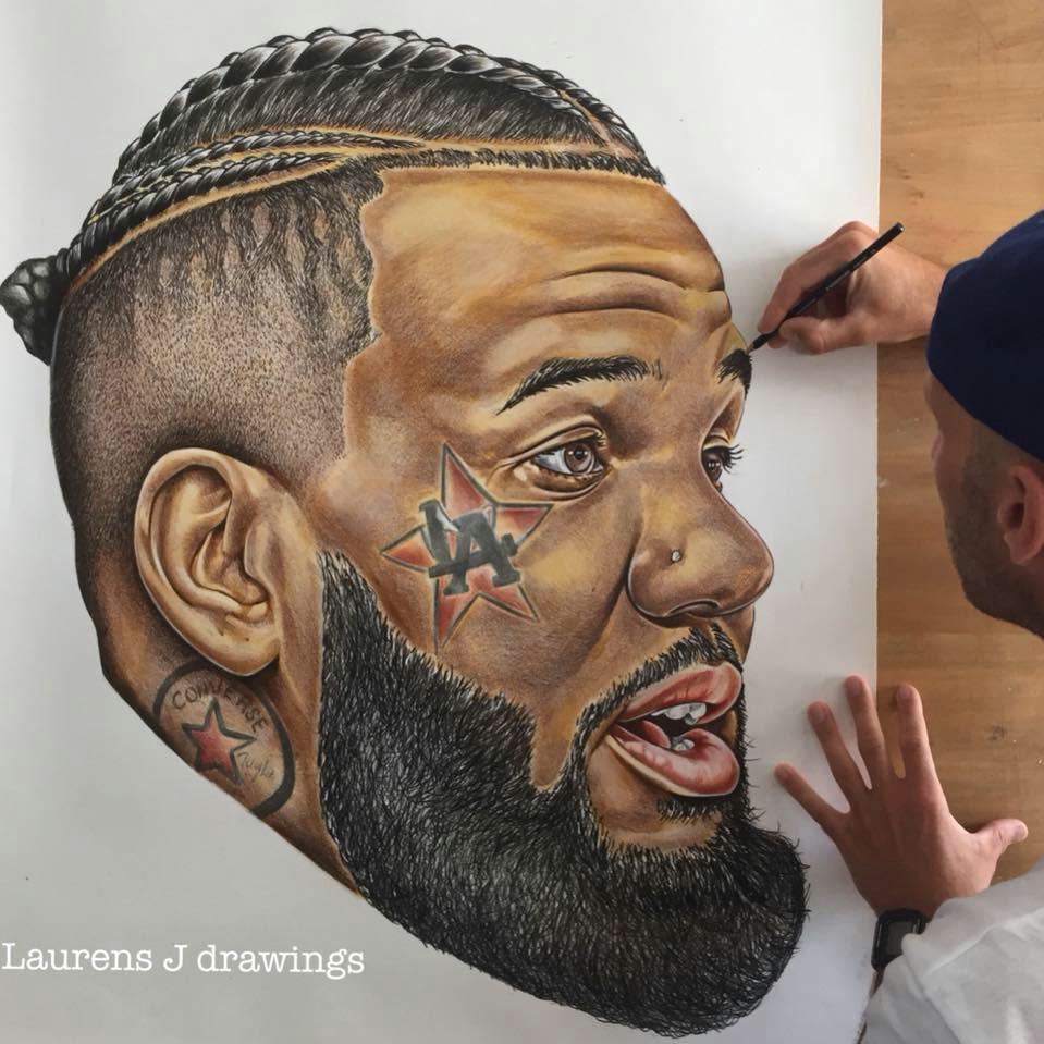 fotogalerie 20 portreta nejva ta a ch ikon rapove komunity o ktere se postaral laurens j drawings 1 a ast