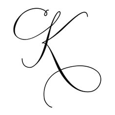 latin capital letter k stylistic set 4 letter k tattoo letter k font