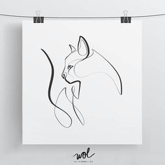 Line Drawing Of A Cat Sitting Cat Sketch Sketch Cat S