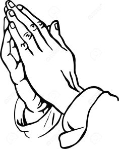 easy rider line drawings praying hands clipart stock photo picture and royalty free image more