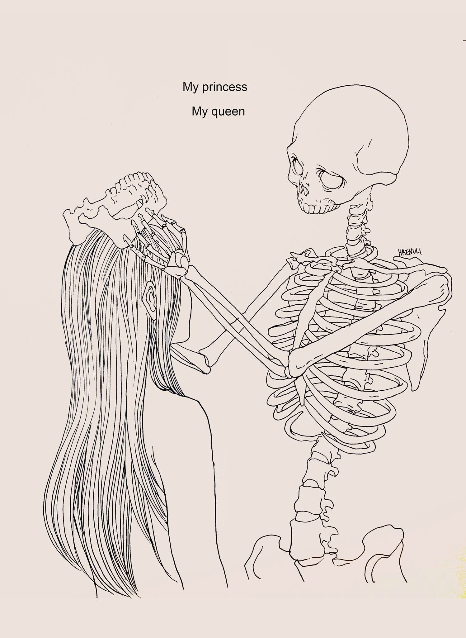 i love you drawings drawings of girls weird drawings skeleton drawings indie
