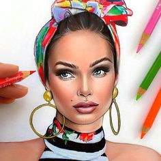 instagram post by natalia vasilyeva oct 9 2015 at 10 27pm utc makeup drawingwatercolor