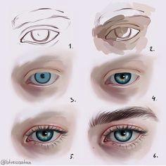 eyes makeup set easy makeup skin makeup simple makeup digital art tutorial
