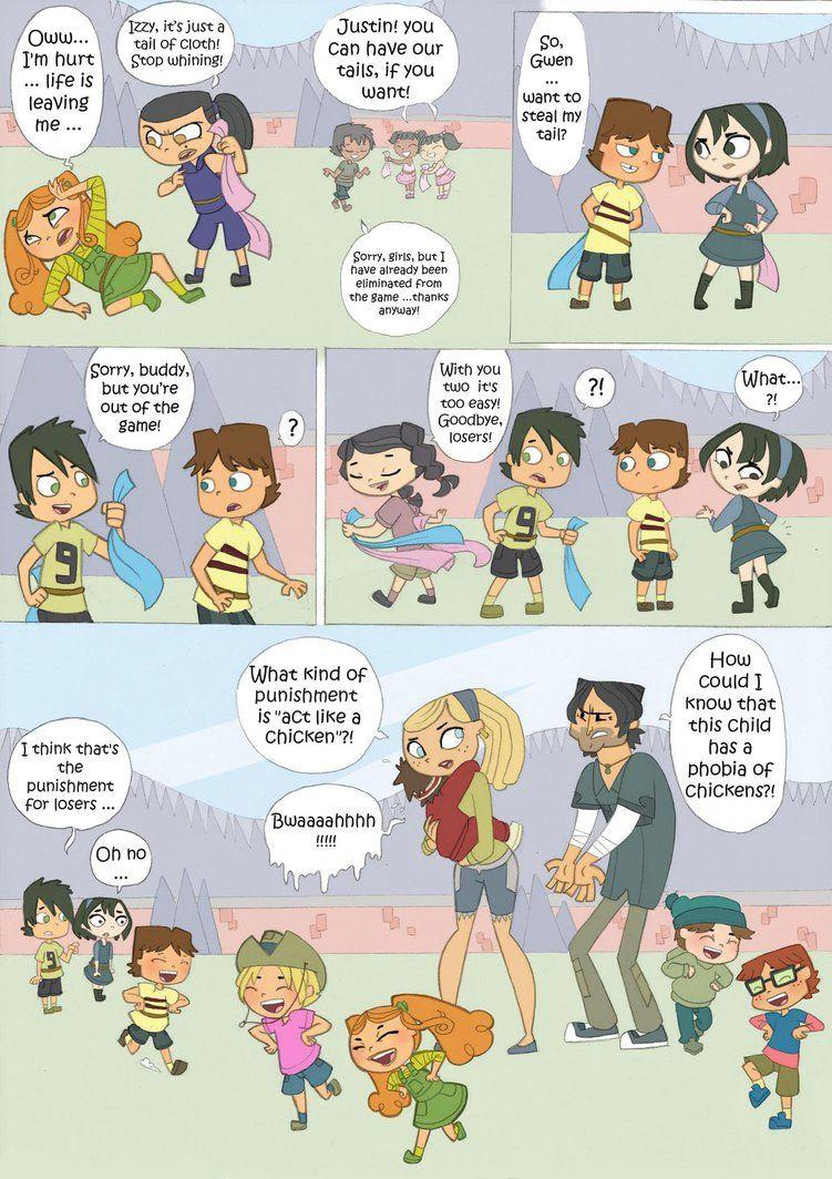 Number 7 Cartoon Drawing total Drama Kids Comic Pag 7 by Kikaigaku Deviantart Com On