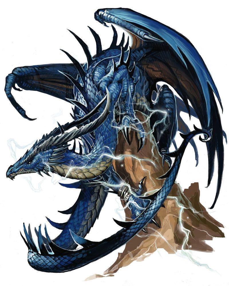 ancient blue dragon by benwootten on deviantart