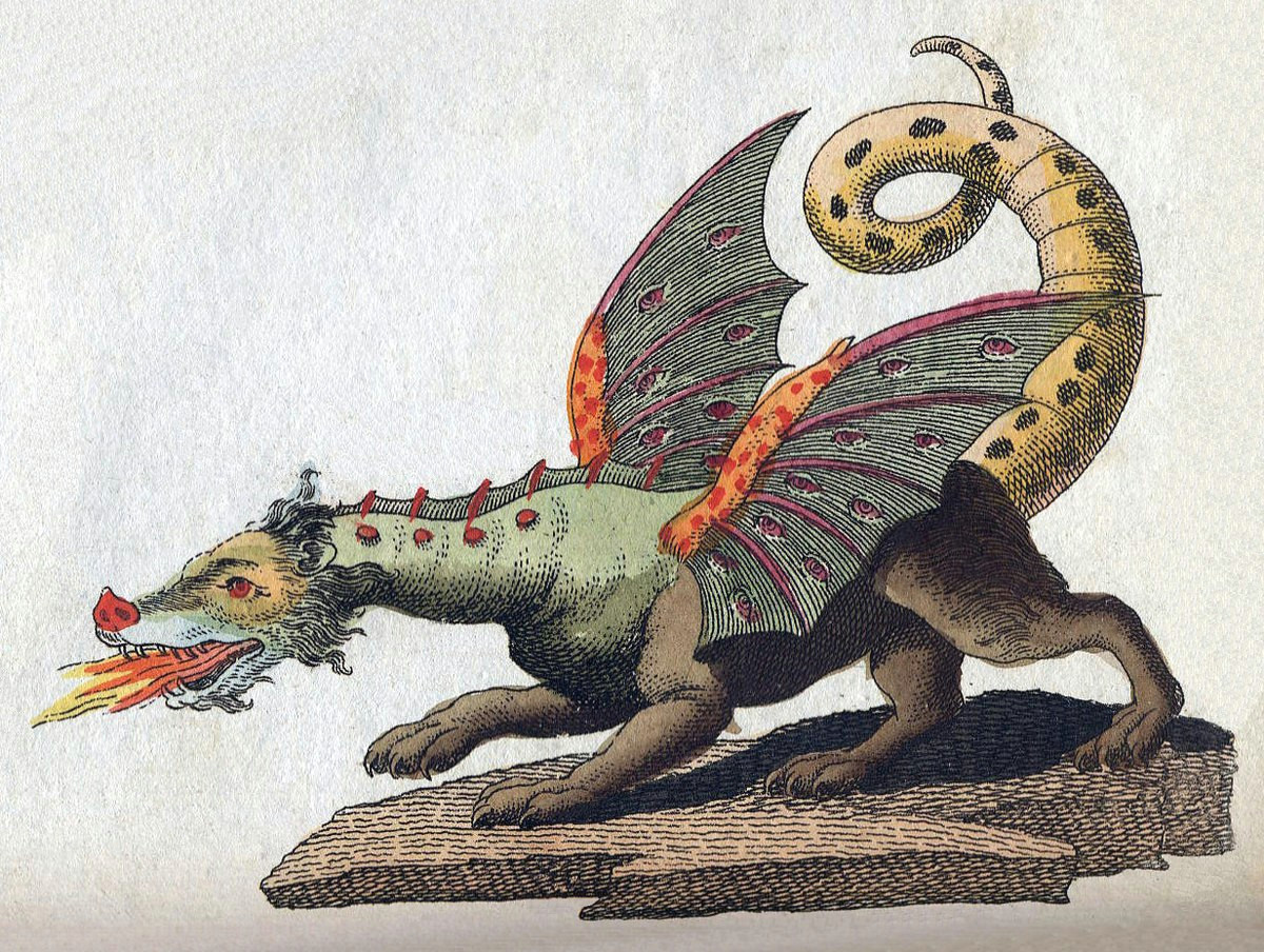 1200px friedrich johann justin bertuch mythical creature dragon 1806 jpg