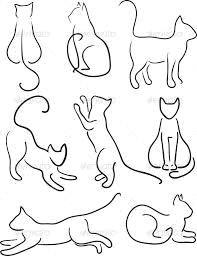cat tattoos google search cat design design set cat drawing cat art