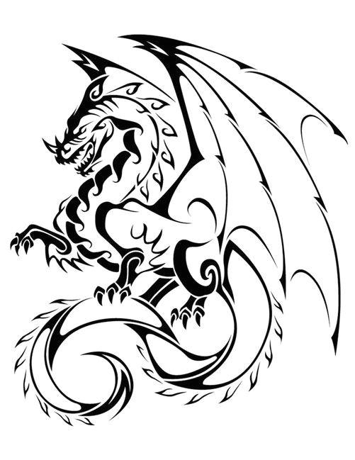dragon tattoo sketch dragon tattoo vector tribal dragon tattoos chinese dragon tattoos