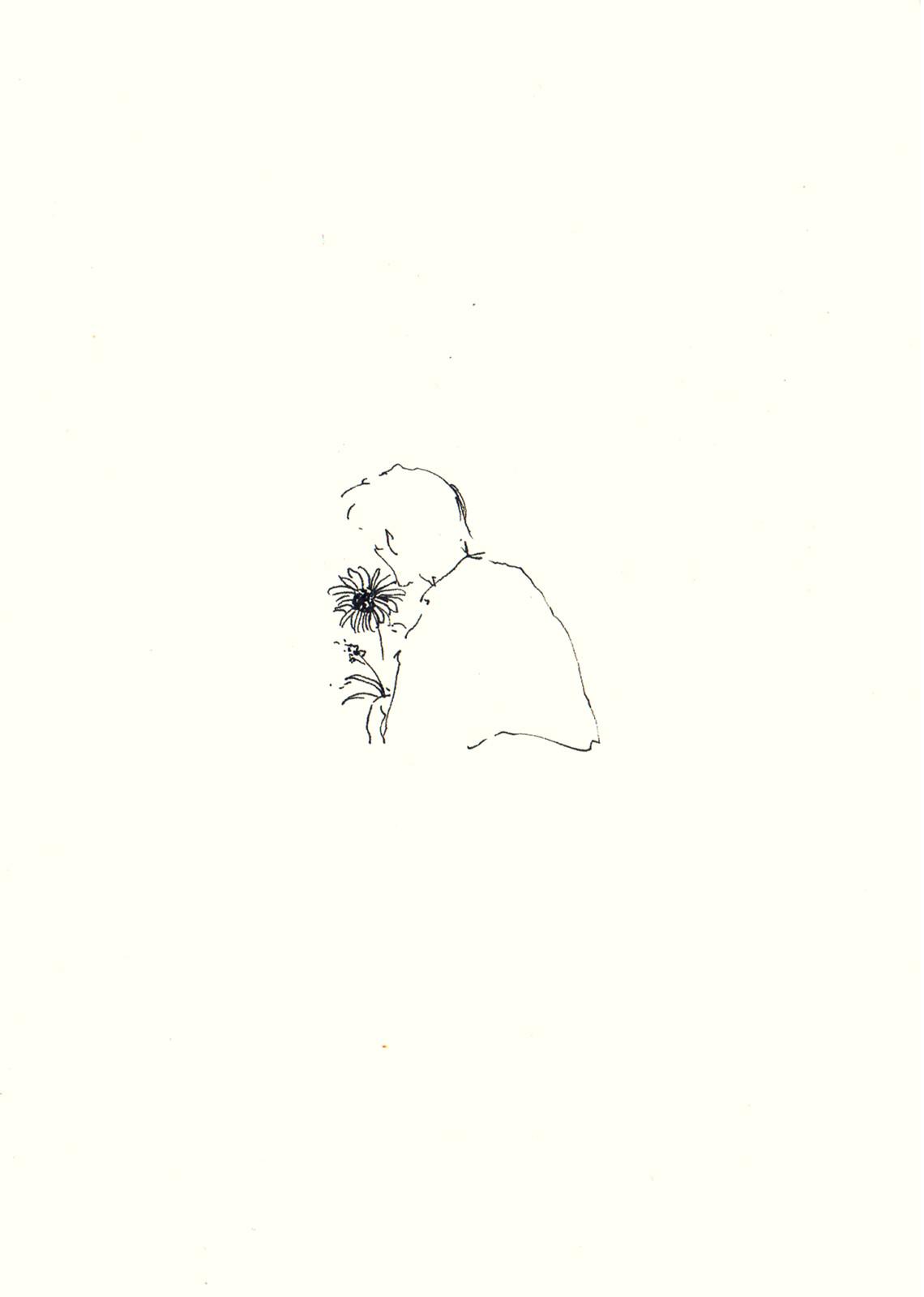 untitled sunflower 2016 pen