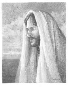 jesus pencil portrait by mike theuer on artwanted christian drawings christian art jesus sketch