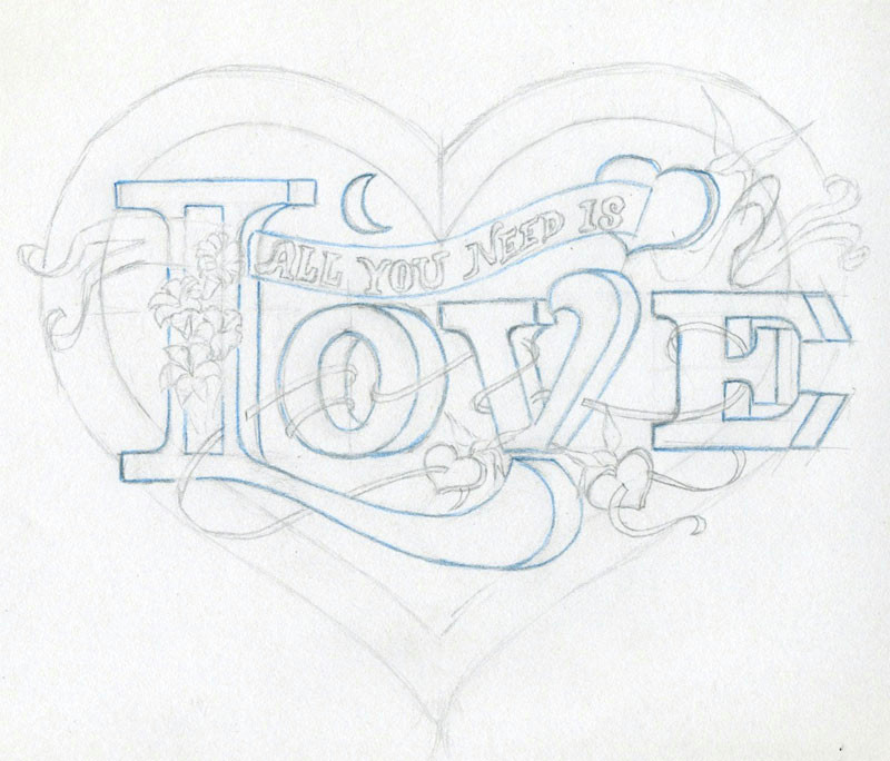 learn to draw a heart