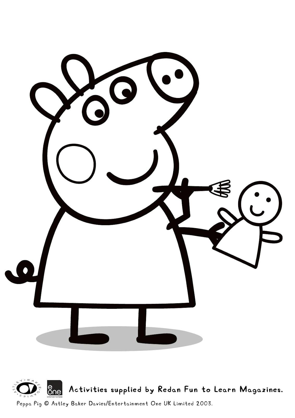 guarda tutti i disegni da colorare di peppa pig www bambinievacanze com