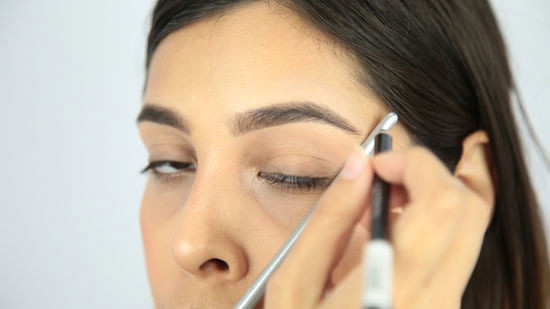 determine where your brow should end