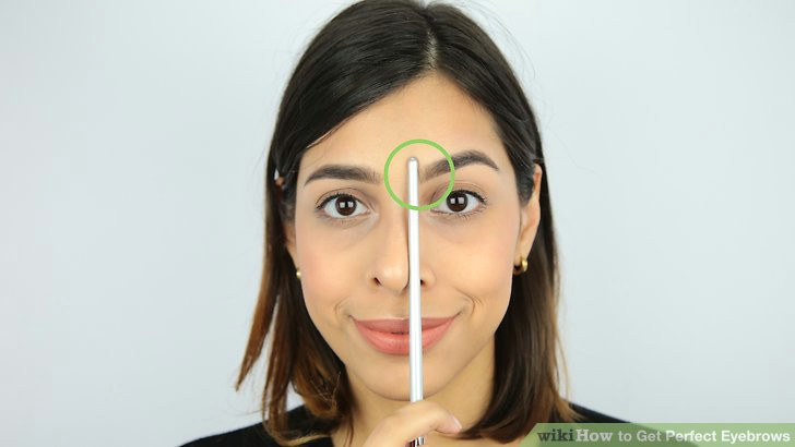 image titled get perfect eyebrows step 1