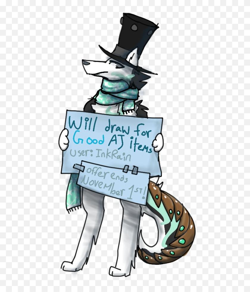 will draw for good aj items by wyvernborne on deviantart arctic wolf drawing aj