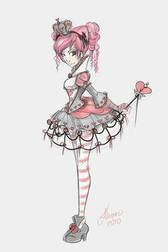 lolita teen queen of hearts