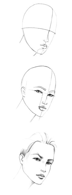 learn more about how to draw the three quarter face one of the most difficult