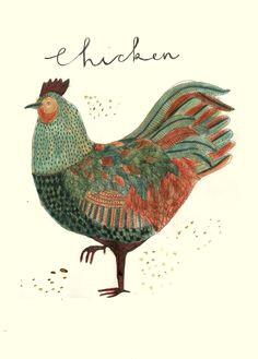 katt franks illustrations bird art chicken illustration art et illustration food illustrations