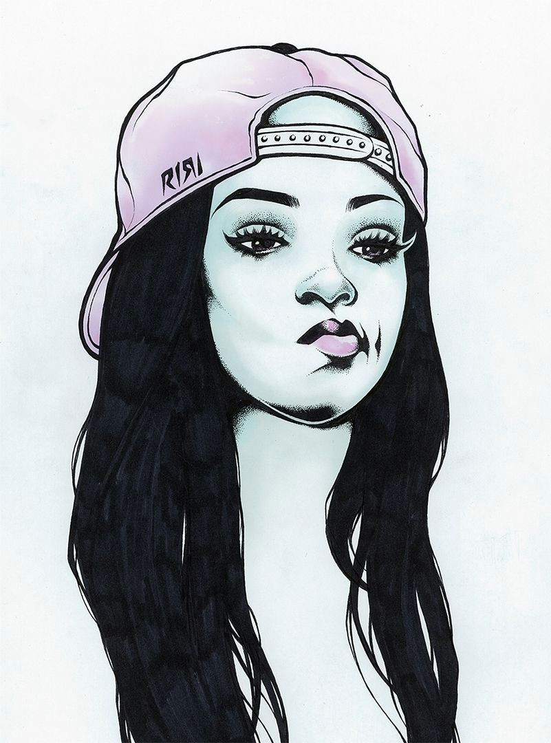 Rihanna Drawing Tumblr by Adam isaac Jackson Drawings Art Rihanna Rihanna Drawing