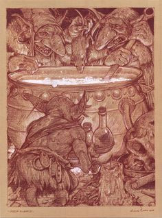 arte horror fantasy world fantasy art fantasy inspiration bane goblin