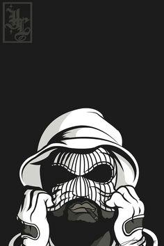 illustration cali gangsta vector west coast hiiipower schoolboy q hip hop tattoo