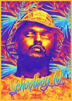 neo soul dope art street artists musical schoolboy q hiphop
