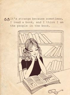 ah so true i literally have thought that girl reading book reading
