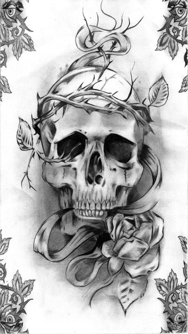 discover ideas about girly skull tattoos