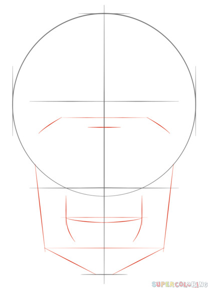 how to draw a human skull step by step drawing tutorials for kids and beginners