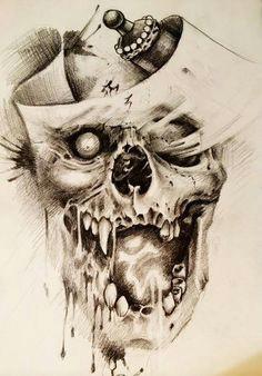 chronic ink tattoo toronto tattoo custom skull sketch by damon skull tattoos