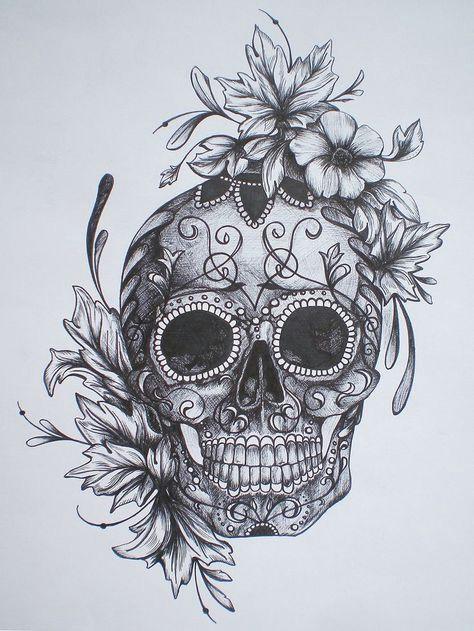 bildergebnis fur calaveras tattoo