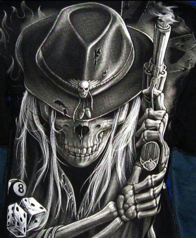 bad ass drawings grim reaper evil skull art art skulls
