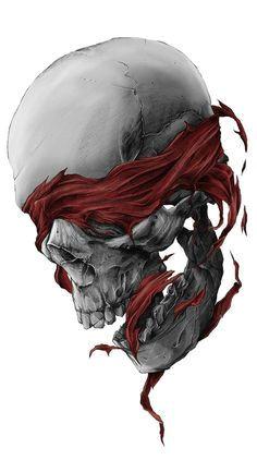 blindfolded skull tattoos vorlagen tattoo bilder idee tattoo totenkopf illustration sensenmann tattoo