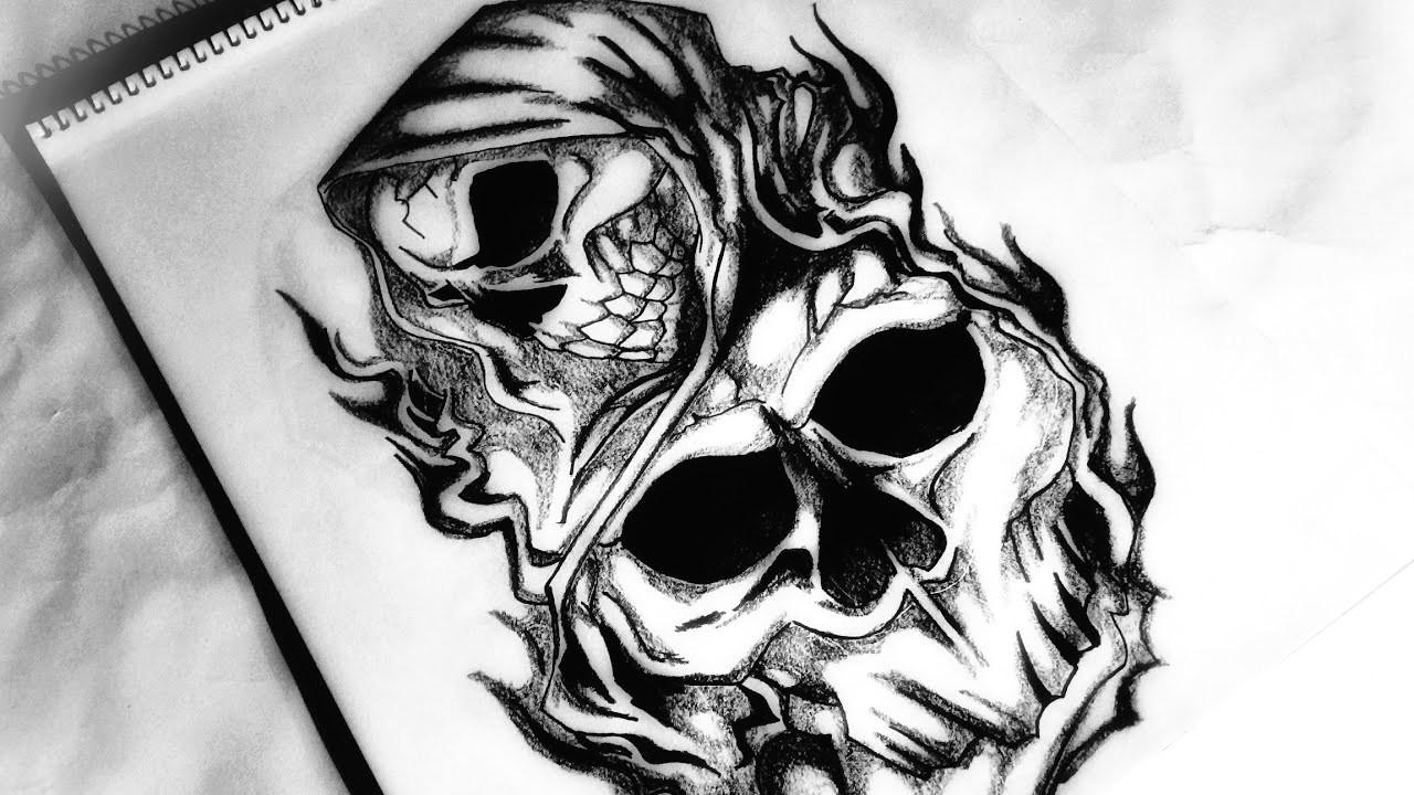 how to draw a grim reaper tattoo design body tattoo 2018 update