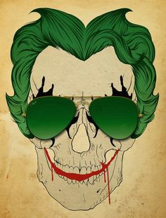love this skull joker