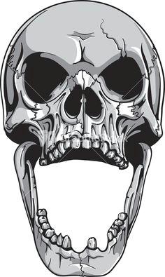 skull art future tattoos motorcycle paint open
