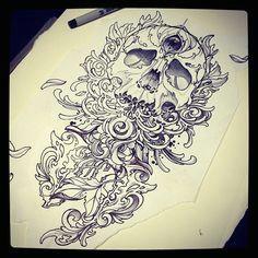 so much detail skull sharpie drawing sharpie tattoos sharpie drawings sharpie