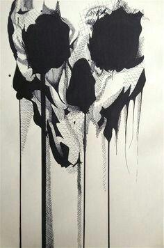 shaprie skull sharpie art skull sugar skull