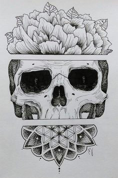 sugar skull a love this drawing don t know if you can call