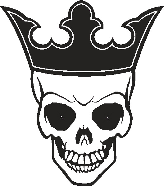 skull with a crown sketch google search