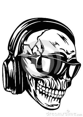 skull headphones spa deals custom stamps crock pot sugar skulls black friday glasses music skeleton