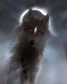 fang concept shadow wolf fantasy creatures werewolf fantasy characters character concept