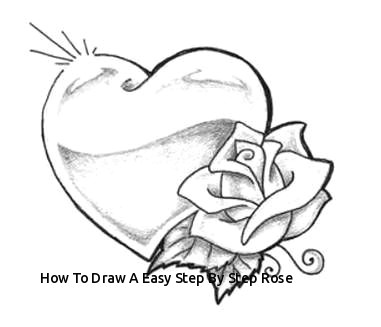 how to draw a easy step by step rose rose tattoos d7 381 327 sabrina