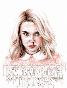 stranger things eleven not mine stranger things netflix stranger things fan art