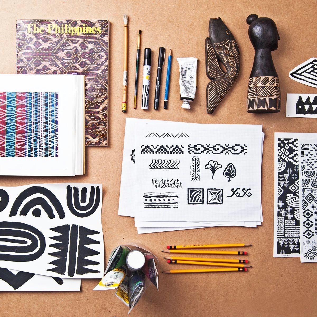 team manila s ethnic pattern designs